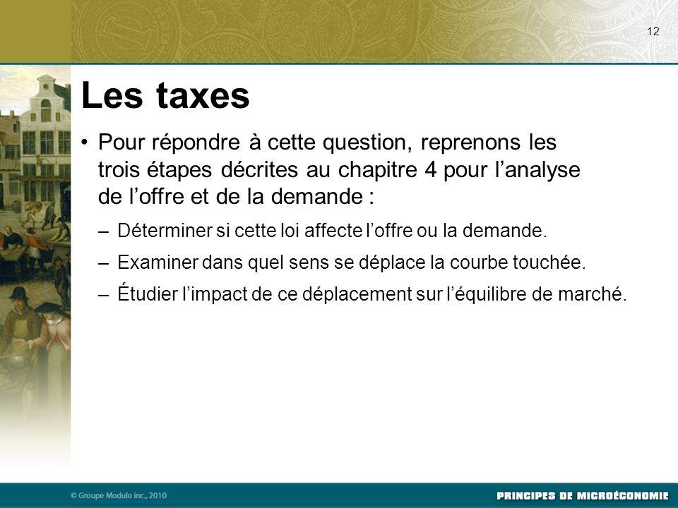 07/23/09 12. Les taxes.