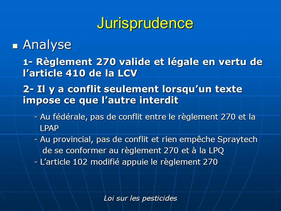 Jurisprudence Analyse
