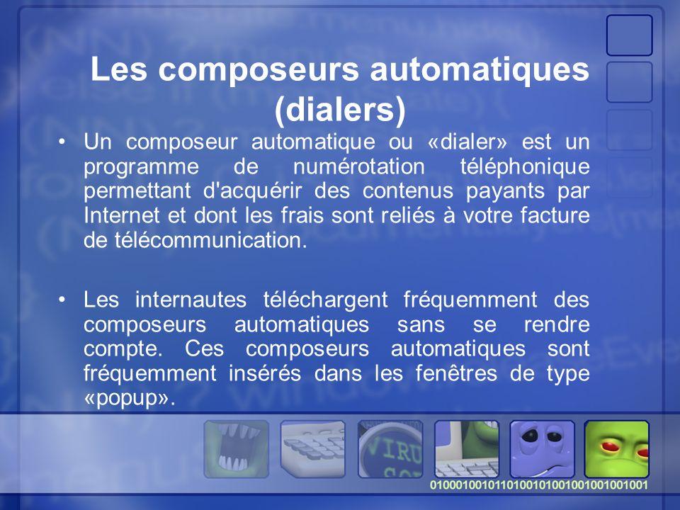 Les composeurs automatiques (dialers)