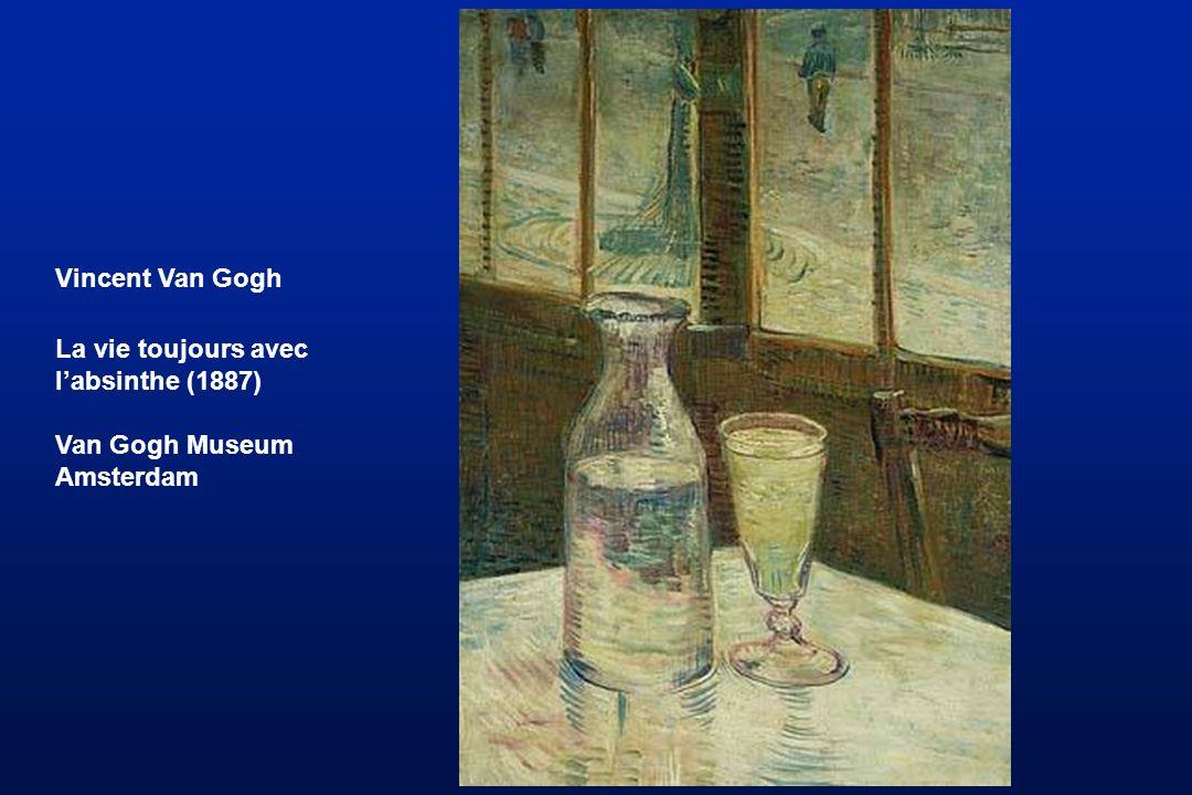 Vincent Van Gogh La vie toujours avec l'absinthe (1887) Van Gogh Museum Amsterdam