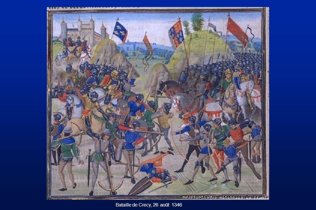 Bataille de Crecy, 26 août 1346