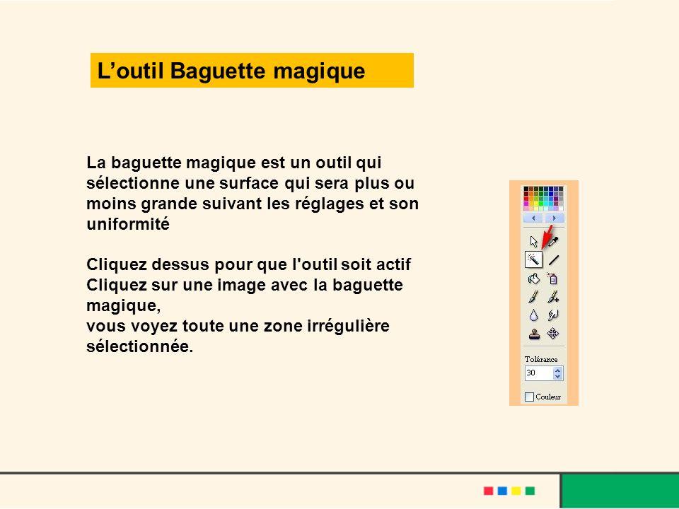 L'outil Baguette magique