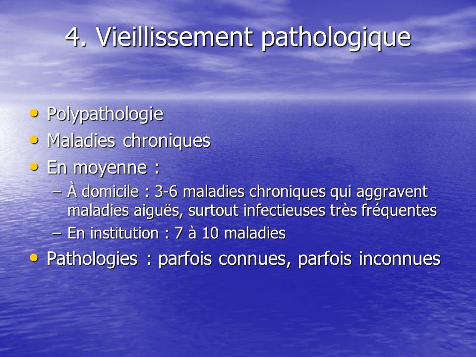 4. Vieillissement pathologique