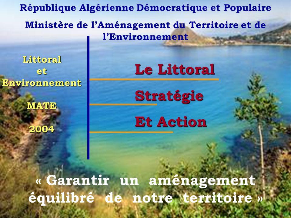 « Garantir un aménagement équilibré de notre territoire »