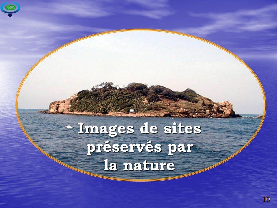 Images de sites préservés par la nature