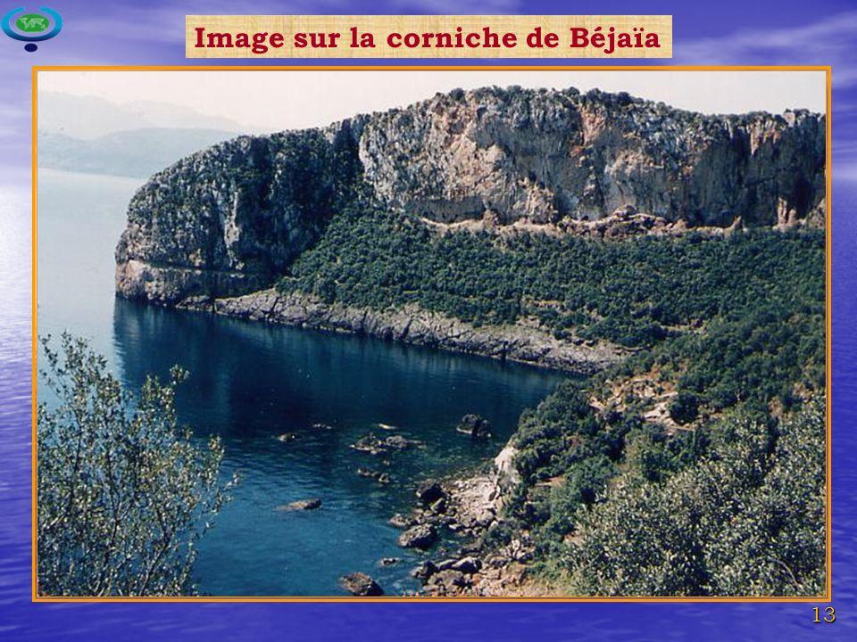 Image sur la corniche de Béjaïa
