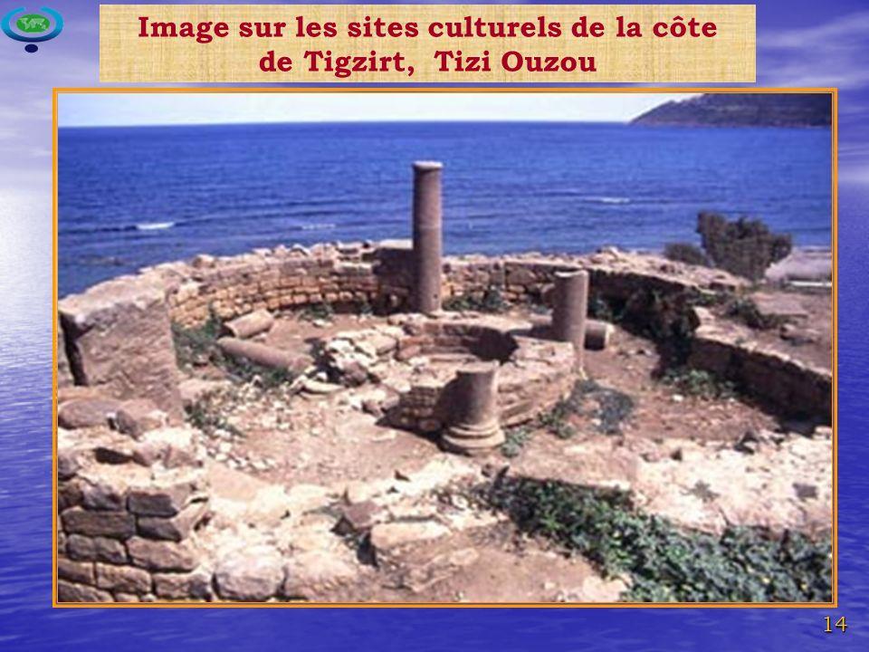 Image sur les sites culturels de la côte de Tigzirt, Tizi Ouzou