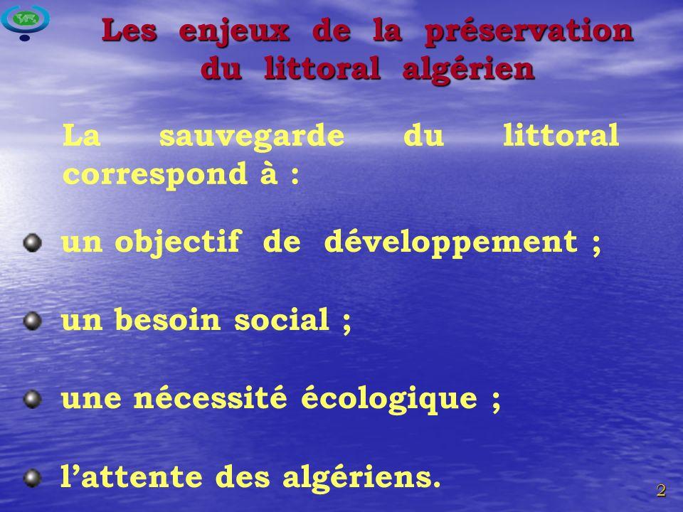 Les enjeux de la préservation du littoral algérien