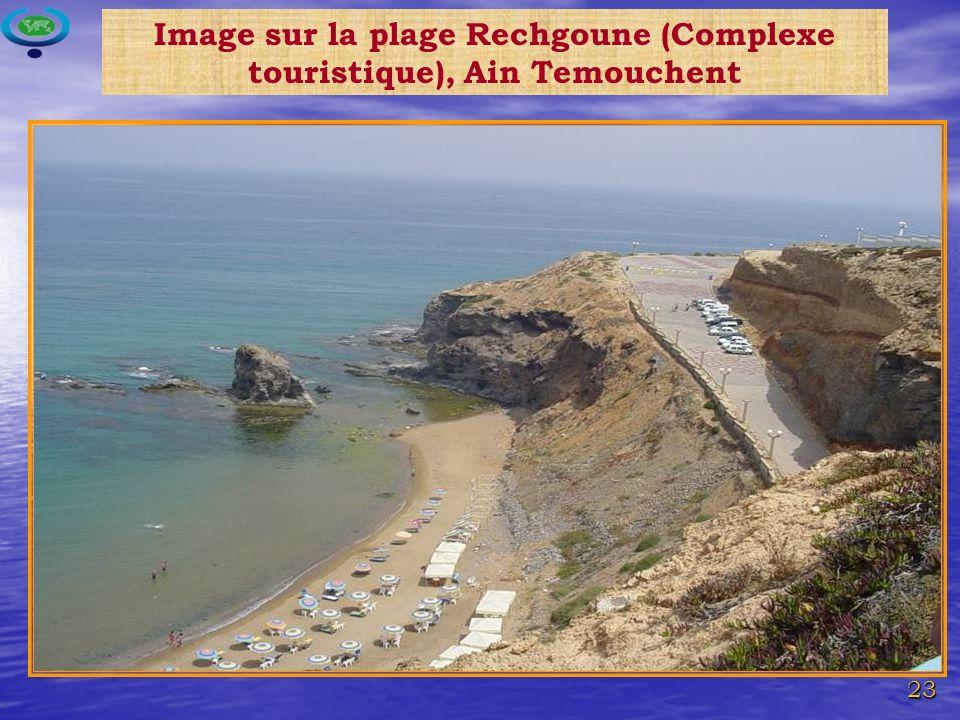 Image sur la plage Rechgoune (Complexe touristique), Ain Temouchent