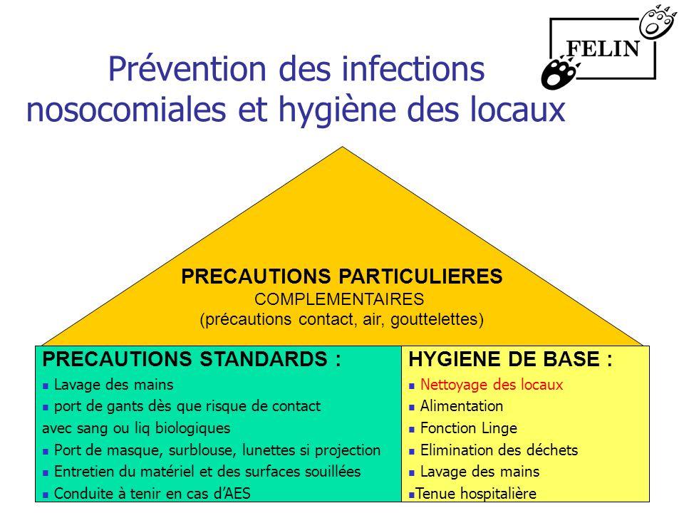 Prévention des infections nosocomiales et hygiène des locaux