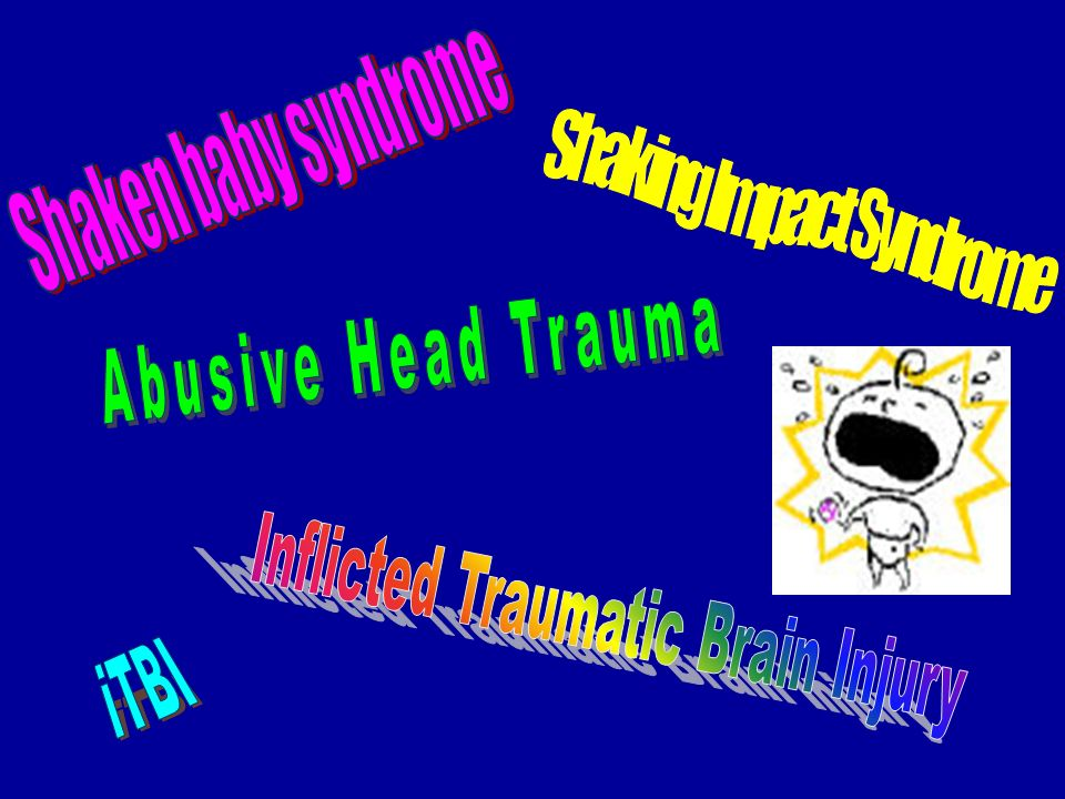 Abusive Head Trauma iTBI Shaken baby syndrome Shaking Impact Syndrome