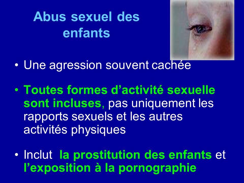 Abus sexuel des enfants