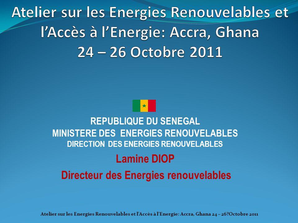 Directeur des Energies renouvelables