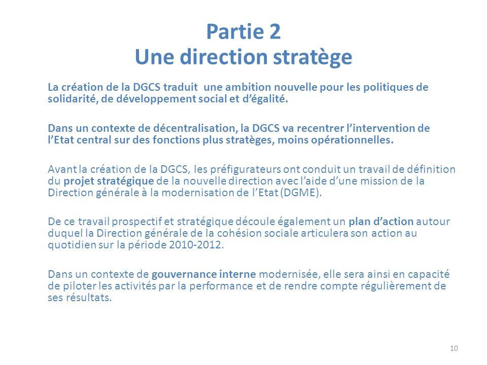 Partie 2 Une direction stratège