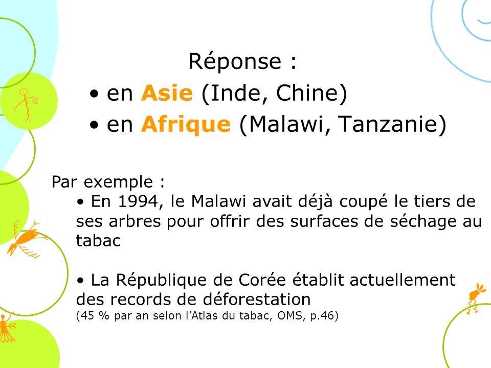 en Afrique (Malawi, Tanzanie)