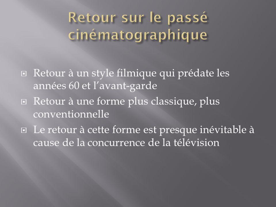 Retour sur le passé cinématographique