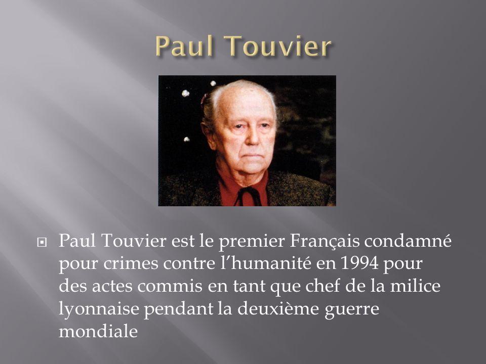 Paul Touvier