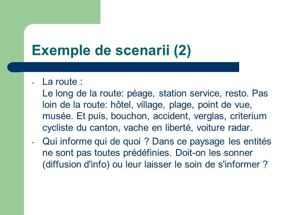 Exemple de scenarii (2)
