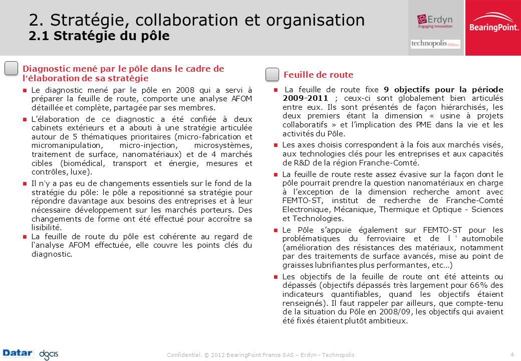 2. Stratégie, collaboration et organisation