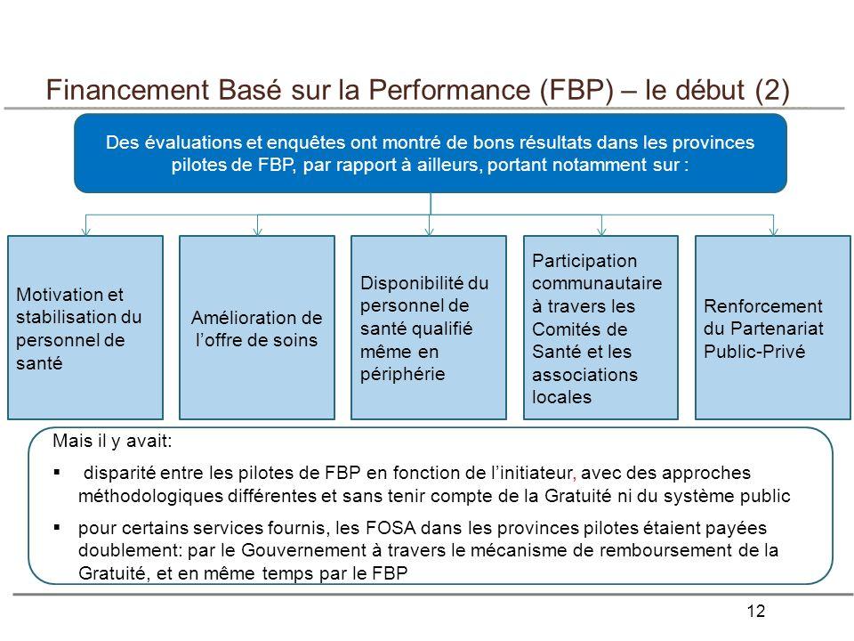 Financement Basé sur la Performance (FBP) – le début (2)