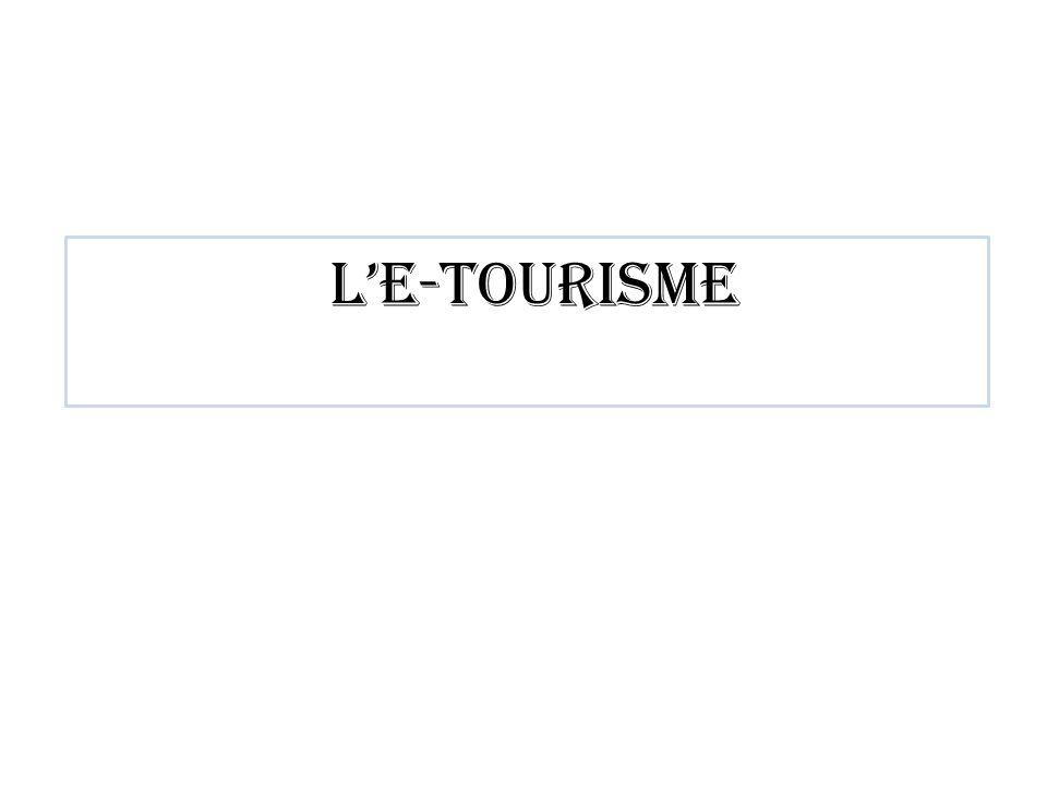 l'e-tourisme