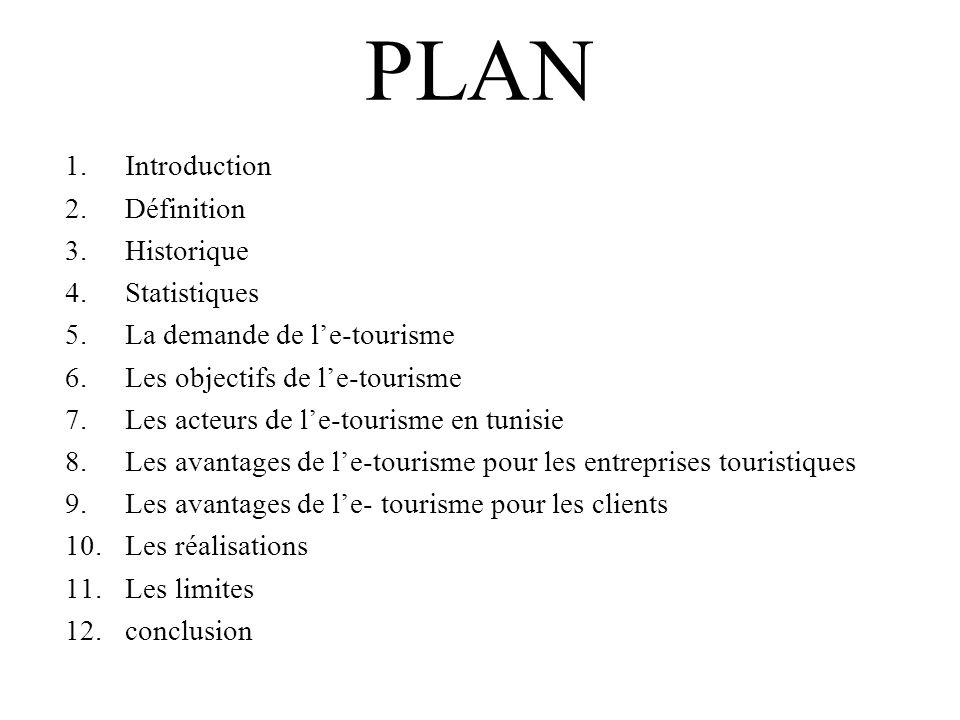 PLAN Introduction Définition Historique Statistiques