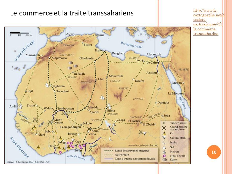 Le commerce et la traite transsahariens