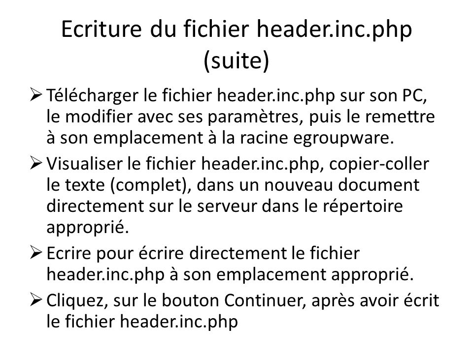 Ecriture du fichier header.inc.php (suite)
