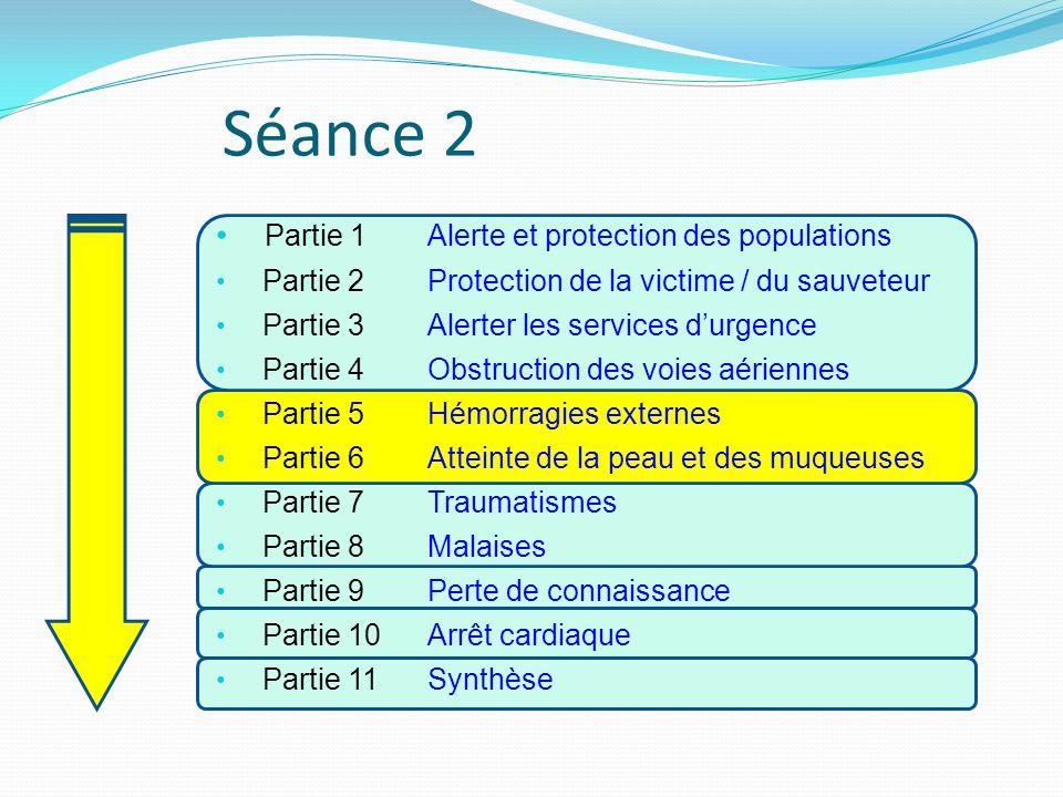 Séance 2 Partie 1 Alerte et protection des populations