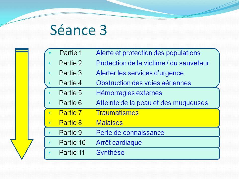 Séance 3 Partie 1 Alerte et protection des populations
