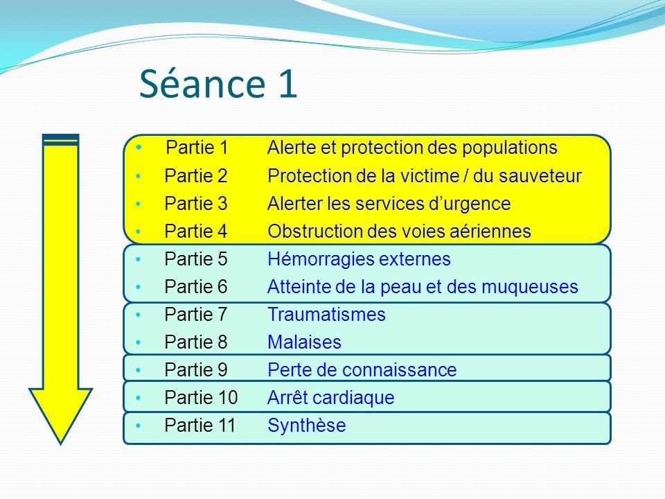 Séance 1 Partie 1 Alerte et protection des populations