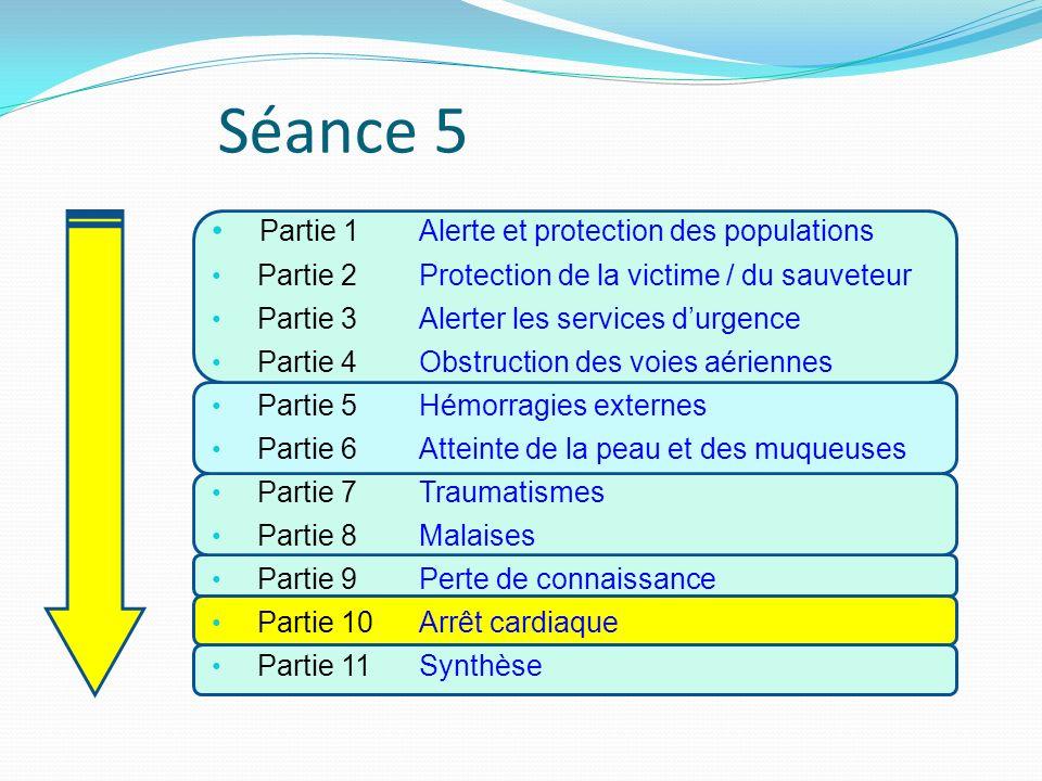 Séance 5 Partie 1 Alerte et protection des populations