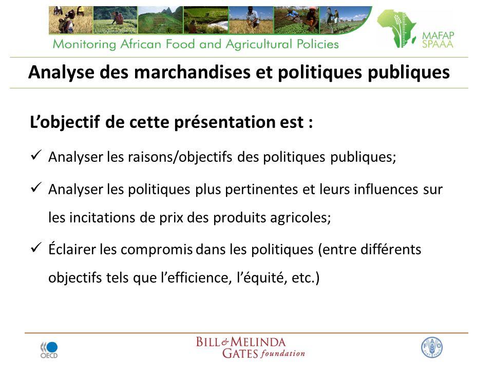 Analyse des marchandises et politiques publiques