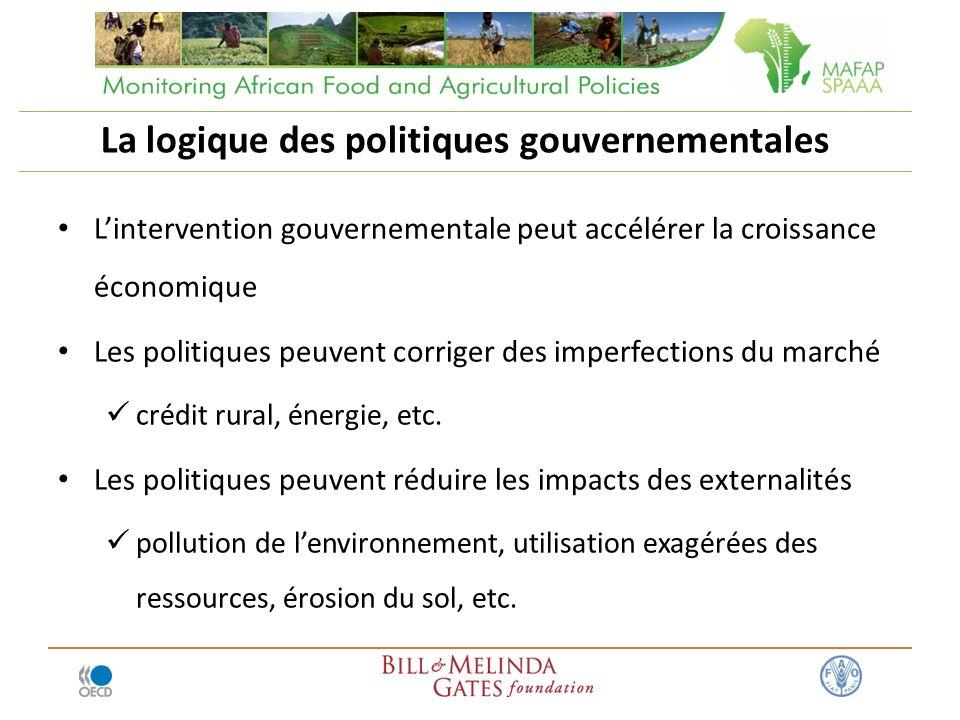La logique des politiques gouvernementales