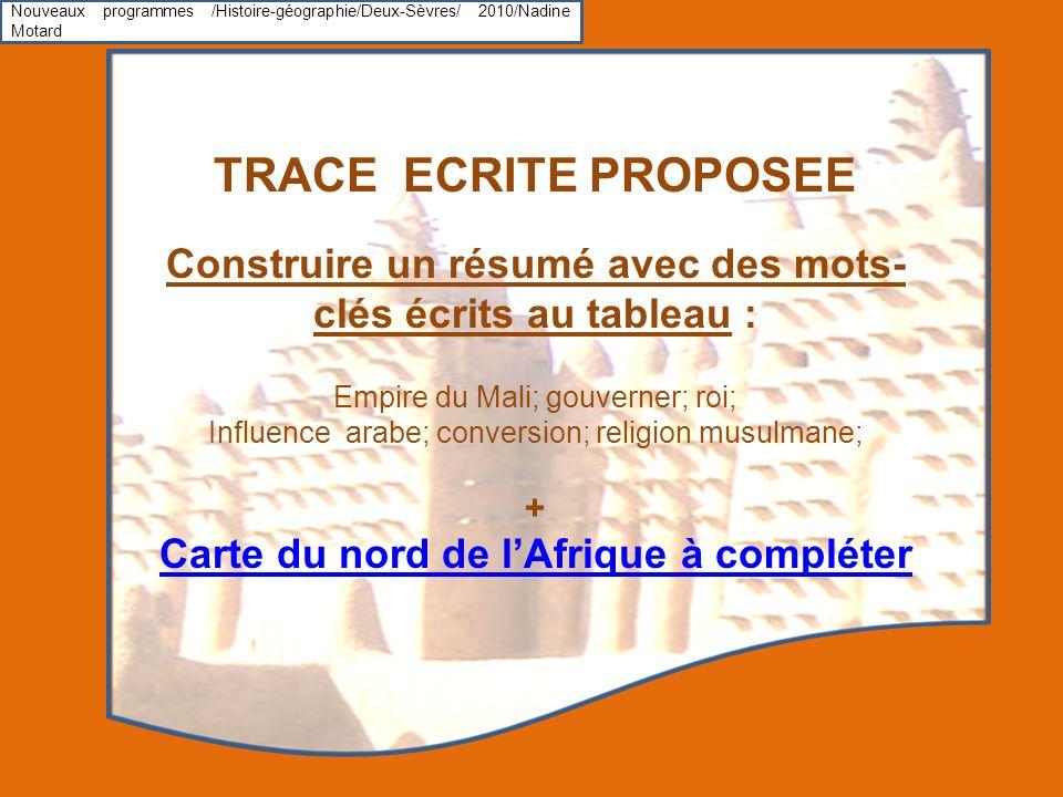 Nouveaux programmes /Histoire-géographie/Deux-Sèvres/ 2010/Nadine Motard
