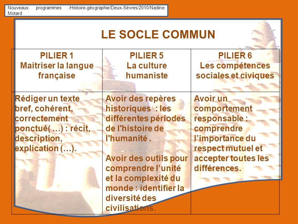 Maitriser la langue française Les compétences sociales et civiques