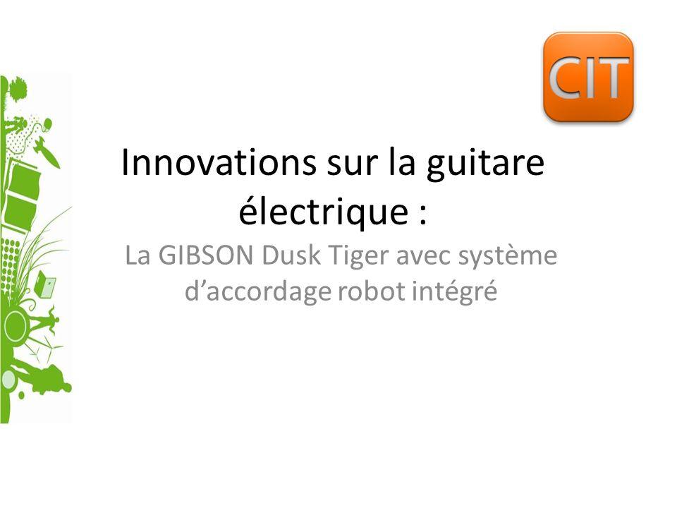 Innovations sur la guitare électrique :
