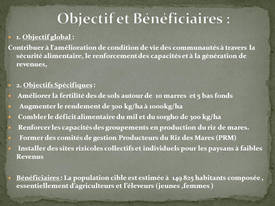 Objectif et Bénéficiaires :