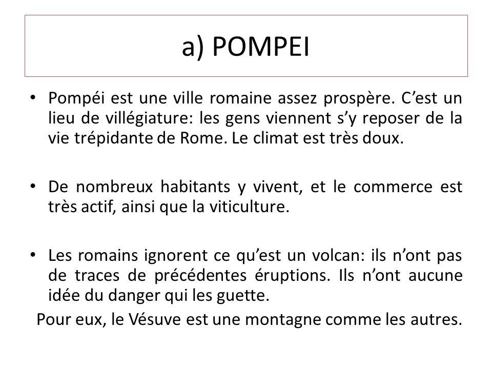a) POMPEI