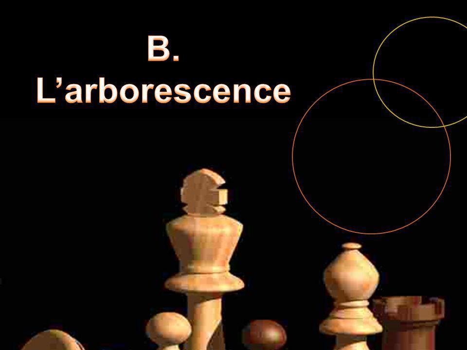 B. L'arborescence