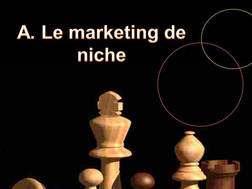 A. Le marketing de niche