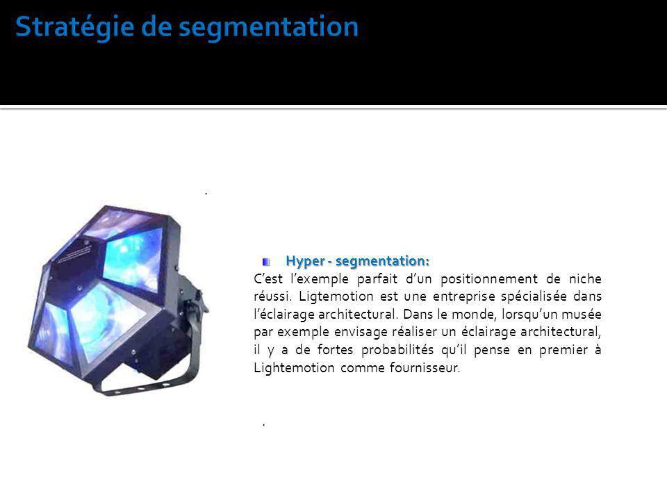Stratégie de segmentation