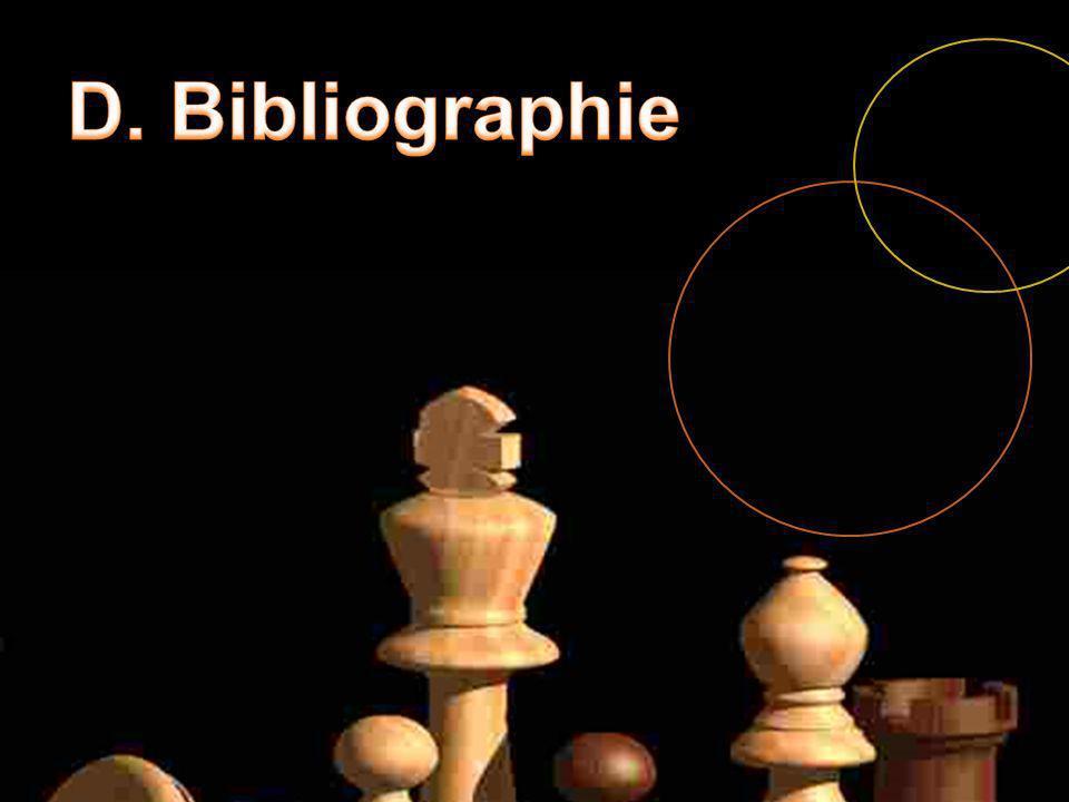D. Bibliographie