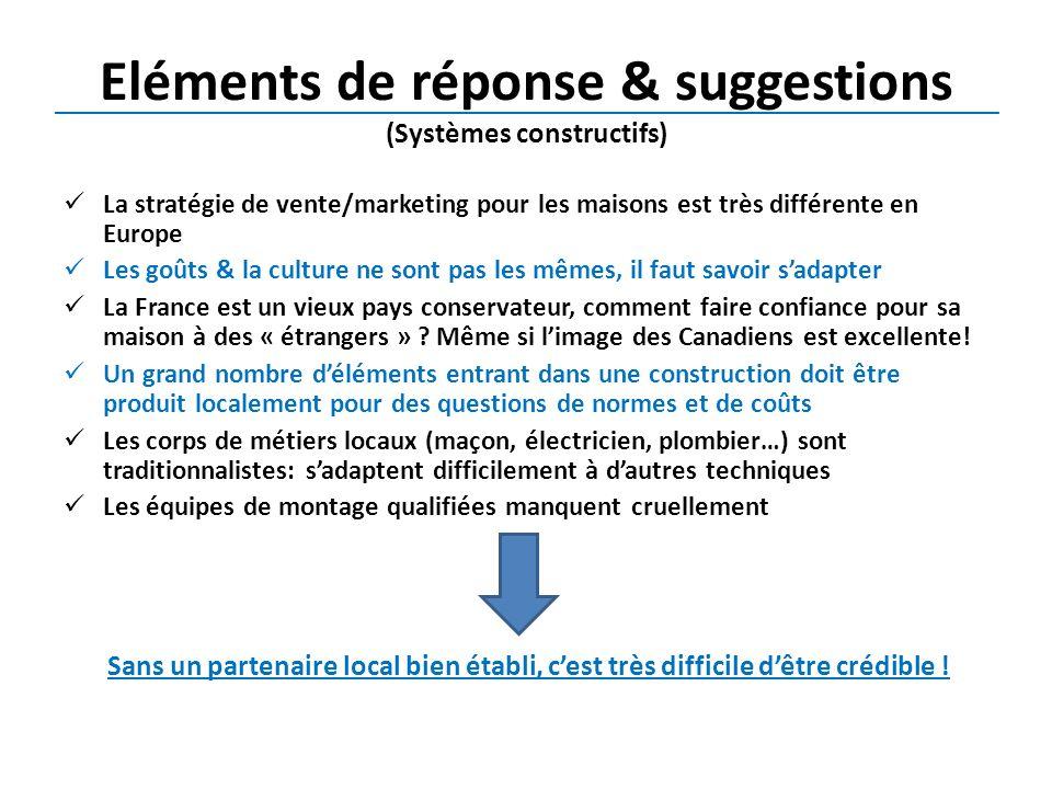 Eléments de réponse & suggestions (Systèmes constructifs)