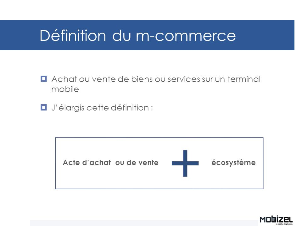 Définition du m-commerce