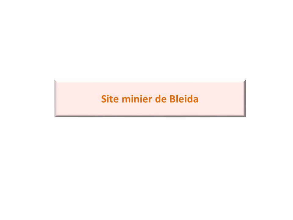 Site minier de Bleida