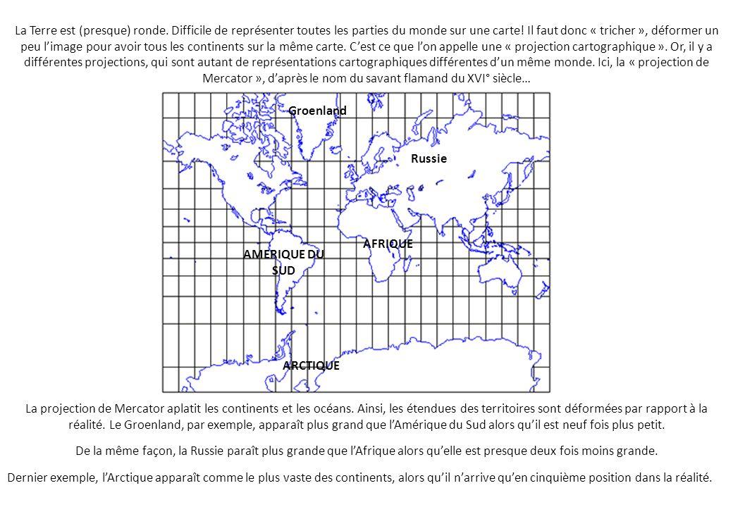 La Terre est (presque) ronde