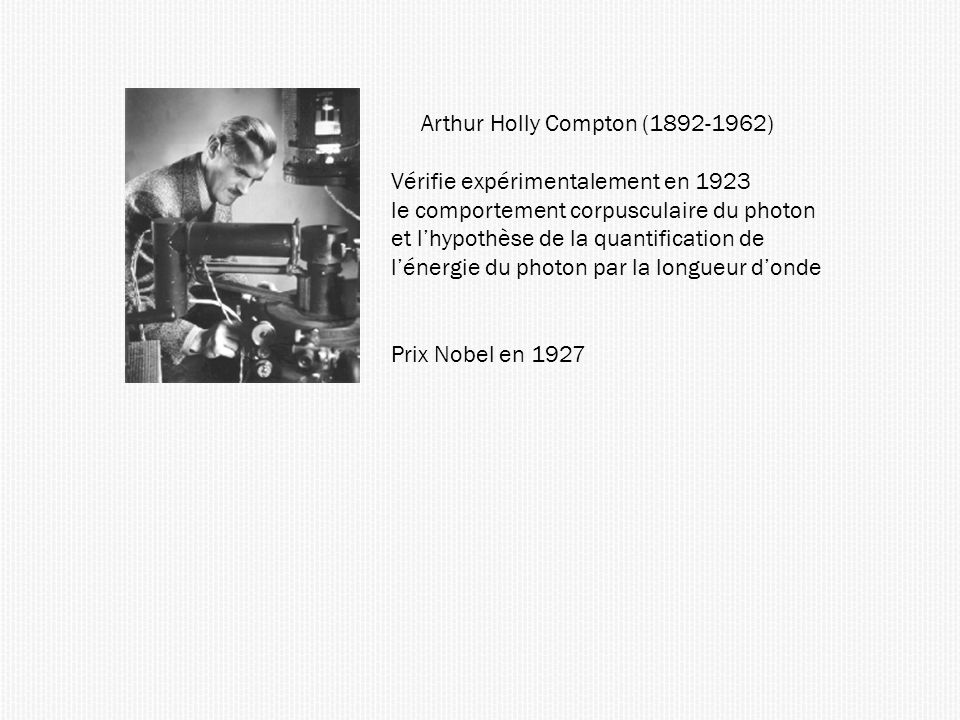 Arthur Holly Compton (1892-1962)