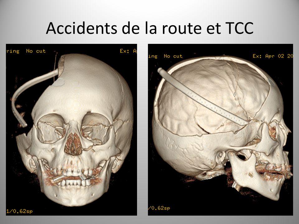 Accidents de la route et TCC