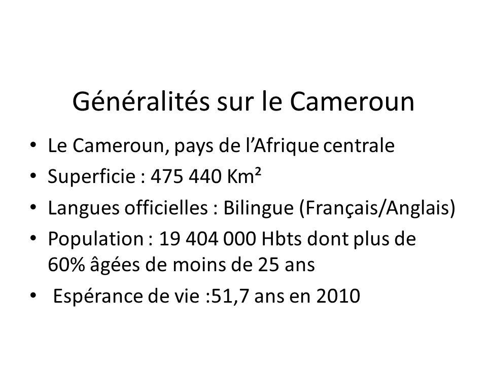 Généralités sur le Cameroun